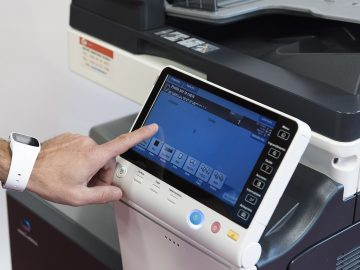 Macchina fotocopiatrice Konica Minolta Duplex